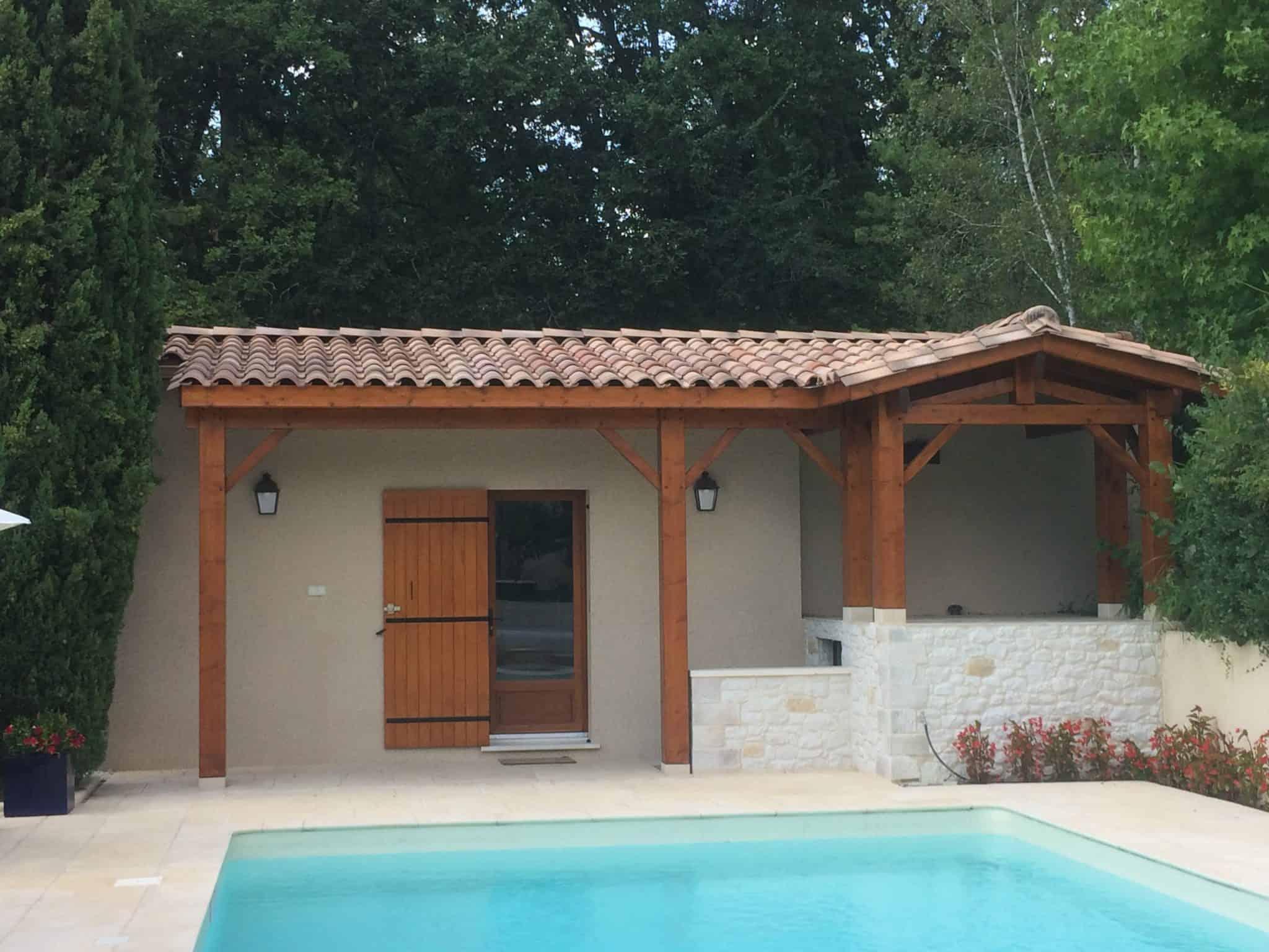 Réalisation Pool house