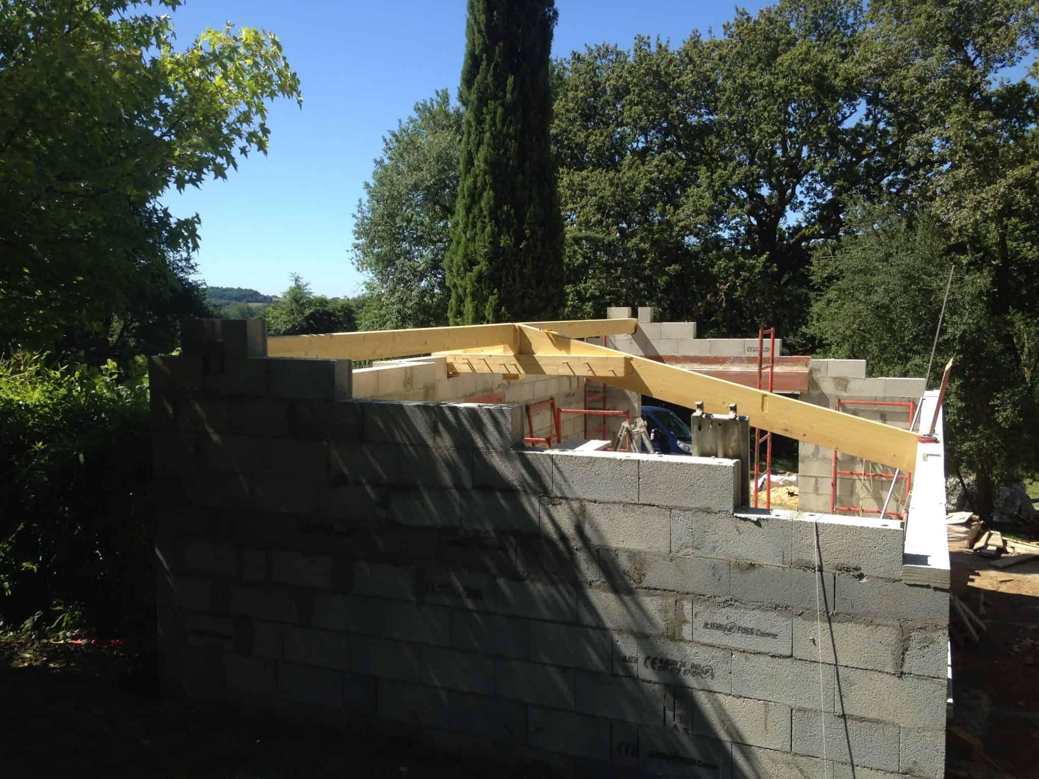 Réalisation toiture